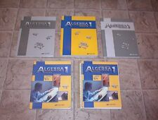 ABEKA 9th GRADE ALGEBRA with TEACHER EDITION  CLEAN NO MISSING PAGES SAVE $65.00