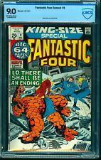 Fantastic Four Annual #9 CBCS VF/NM 9.0 Off White to White