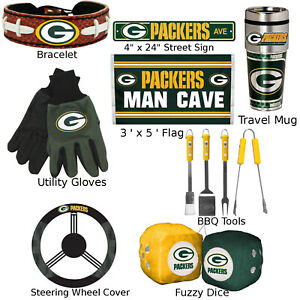 Green Bay Packers Fan Apparel (Choose Your Product) Football NFL GB Logo