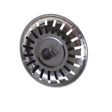 1X Kitchen Sink Strainer Waste Plug Basin Filter Home Kitchen Drainer Strain XL