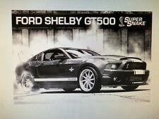 FORD SHELBY GT500 MUSTANG SUPER SNAKE MUSCLE CAR 24X36 POSTER AMERICAN RACING!!!