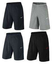 Mens Nike Shorts Club Jersey Running Gym Sports Knee Length Workout Bottoms New