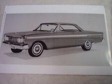 1964 MERCURY COMET  2DR HARDTOP 11 X 17  PHOTO /  PICTURE