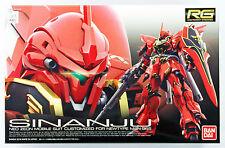 Bandai RG-22 Gundam MSN-06S Sinanju 1/144 Scale Kit