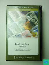 Business Law-Contracts: The Teaching Company (Great Courses), Frank B. Cross (Na