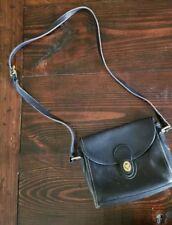 Vintage BLACK LEATHER Classic COACH Devon #9908 CROSSBODY PURSE Shoulder Bag