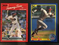 SAMMY SOSA ROOKIE CARD LOT 🔥 1990 Donruss + 1990 Score ⚾️