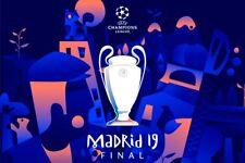 DVD Full Match Champions League Final 2019 Tottenham Hotspur - Liverpool 0-2