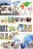 2016 Vaticano Annata Completa Nuovi Come Unificato 28 Valori + 3 Bf  Integri