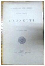 I SONETTI / LUIS DE CAMOES / CANNIZZARO / 1913