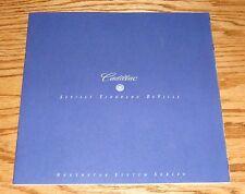 Original 1997 Cadillac Northstar Systems Series Sales Brochure 97 Eldorado
