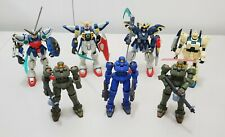 Gundam Wing action figures lot (Used)