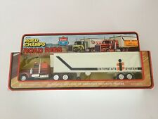 ROAD CHAMPS - ROAD RIGS - INTERSTATE SYSTEM - Tractor & Trailer - 1/50 Scale