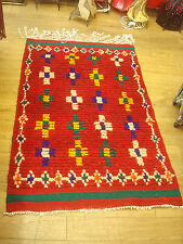 Geometric Moroccan Regional 100% Wool Rugs