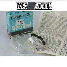 FILTRO ROLLEI SOFT 0/1  Rolleiflex Tessar , Rolleicord Xenar, Yashica mat 124 g