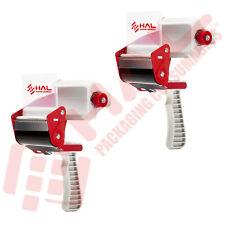 2 Pack Tape Dispenser 3 Inch Tape Gun Grip Heavy Duty Packaging By Hal