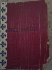Vocabolario tascabile italiano francese Bergoglio 1955