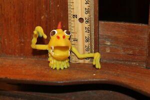 Vintage Rubber Dragon Monster Finger Puppet Jiggler Vending Machine