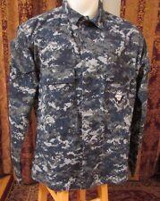 US Navy Issue NWU Blue Digital Camo Shirt, Large- Regular