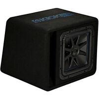 """Kicker 44VL7S122 12"""" 1500w L7 Solo-Baric L7S Loaded Audio Ported Sub Enclosure"""