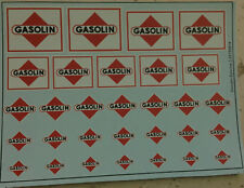 Gasolin Epoche 3 1/87 und H0 Decals