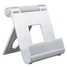 Silver téléphone et tablette, multi-angle Universal Pliable Bureau Support Dock