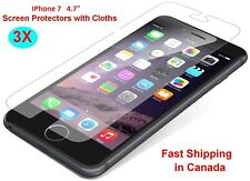 """Brand New 5X Clear LCD Screen Protector for Apple iphone7 iphone 7 4.7"""" Cloth"""
