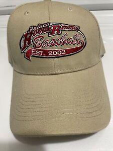 Frisco Texas Rough Riders Khaki Color Baseball Cap EST 2003 New Never Worn