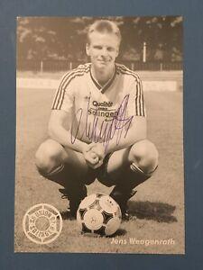 Jens Wengenroth  Autogrammkarte Union Solingen