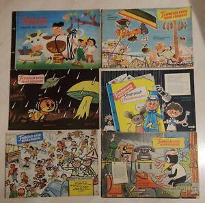 Frösi 1960, 6 Hefte: 5,6,7,8,9,12 (weitere verfügbar)