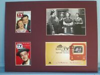 Jackie Gleason & Art Carney in The Honeymooners & First Day Cover  of its stamp