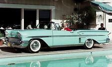 1958 Chevrolet BelAir Impala Showroom wall print 11 x 19 Photograph