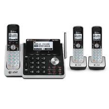 AT&T TL88102 + (2) TL88002 3 Handset 2 Line Digital Expandable Cordless Phone