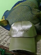 NEW WITH TAGS FEMINIST Cap Hat Satin, shiny Tan Golden Nude Beige Adjustable
