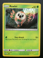 Pokemon card Rowlet SM01 PROMO HOLO Basic Grass Mint Sun & Moon