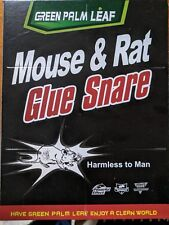 2x Mouse/ Spider /Roach / Fly /Ant / Mice Glue Traps Sticky Fly Insect Catcher