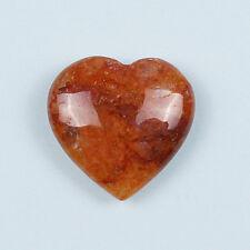 AZOZEO™ HIMALAYA RED AZEZTULITE™ POLISHED GEMSTONE 25 MM HEART