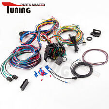 21 Circuit Wiring Harness for CHEVY Mopar FORD Hotrod Universal long Wires.