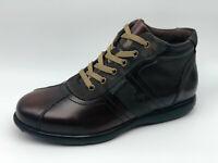 Scarponcini sneaker polacchini Valleverde 49802 pelle mattone tipo camper o frau