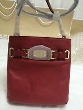 Michael Kors Bag 5F2GHMC3L MK Hamilton Large Crossbody Leather Bag Red