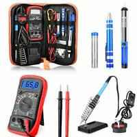 Soldering Iron Kit, ETEPON 60W Adjustable Temperature Electronic Solder Iron
