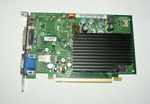 Dell P280 Nvidia Geforce 7300LE 128MB  DVI/TV-Out/VGA PCIE Graphics Card
