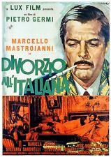 Divorce Italian Style (1961)--16mm feature Film--Stars: Marcello Mastroianni,