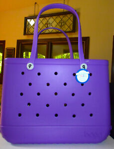Bogg Bag Original Beach Tote Bag * Huston We have Purple * BRAND NEW  *fast ship