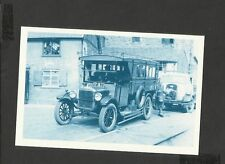 Nostalgia Postcard Vehicle based on Model T Ford Built 1925. in Welshpool  1950