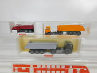 CA250-0,5# 3x Wiking 1:87/H0 Kipper MAN: 676 05 34 + 673 03 22 + 676 26 NEUW+OVP