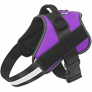 Bolux Dog Harness No-Pull Reflective Breathable Adjustable Pet Vest w Handle M