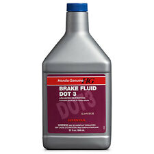 Honda Genuine Dot 3 Brake Fluid 32 Oz. Bottle (08798-9108)