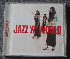 Jazz 'n' World vol 1 - JL ponty miles davis herbie hancock ect ...., CD