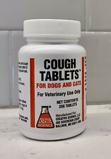Cough Tablets For Dogs And Cats, Creative Cough Tablets *Opened* 136 Tablets